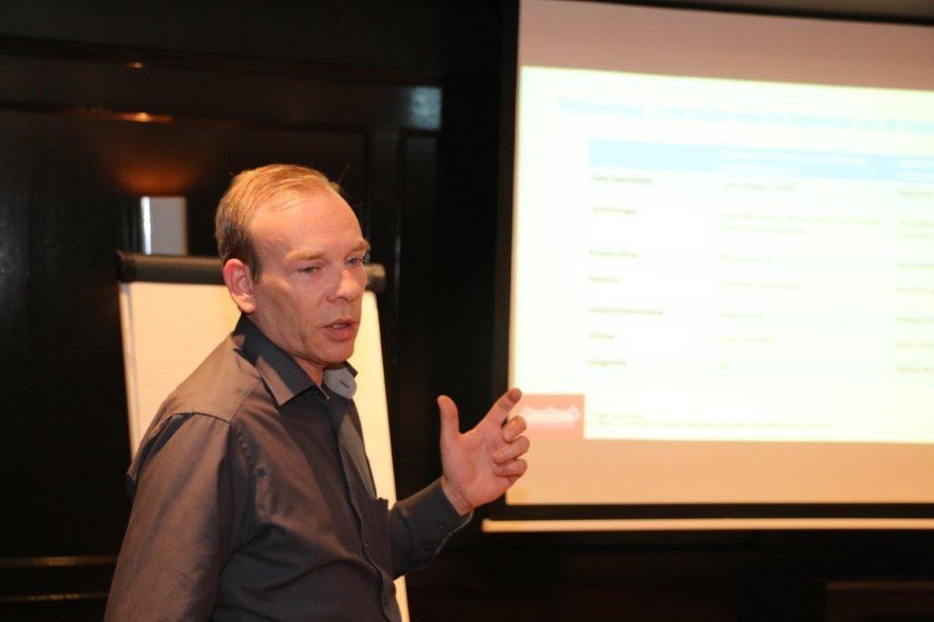 Erik Groten Steenwelle, logistiek manager bij Nooteboom