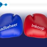 Battle inkoop vs voorraadbeheer met logo