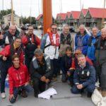 Team Costo klaar voor vertrek vanuit Terherne Haven