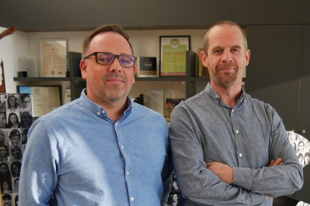 Stef Brouns en Geert Schoutenden van JBC